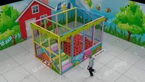 Kod 24134 300cm x 200cm Mini Top Havuzu