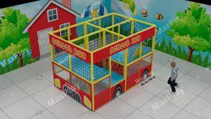 Kod 24137 300cm x 200cm School Bus